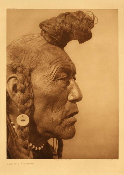 Жизнь американских индейцев на фотографиях Эдварда Шериффа Кертиса (Edward Sheriff Curtis)
