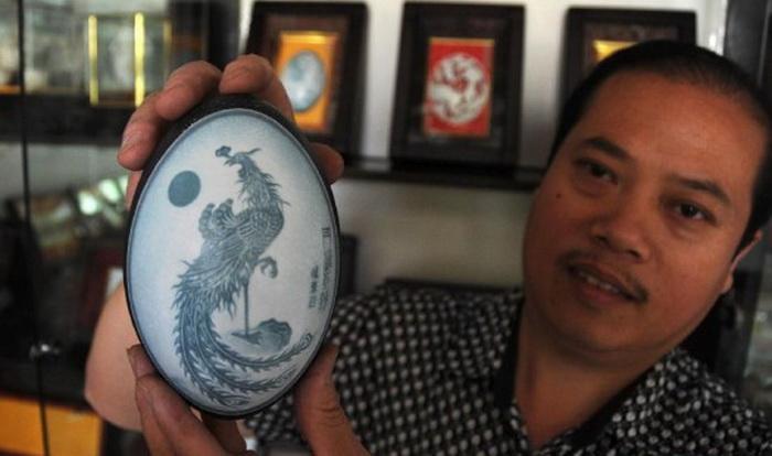 Pu Derong - художник-самоучка