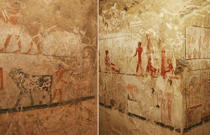 В Египте обнаружена пещера с рисунками, которым 4400 лет.
