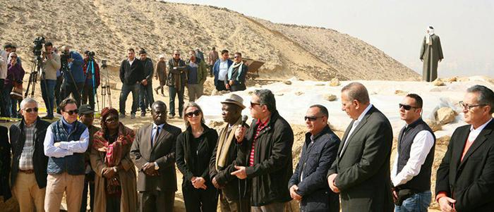 Министерство по делам древностей надеется, что археологическое открытие привлечет туристов в Египет.