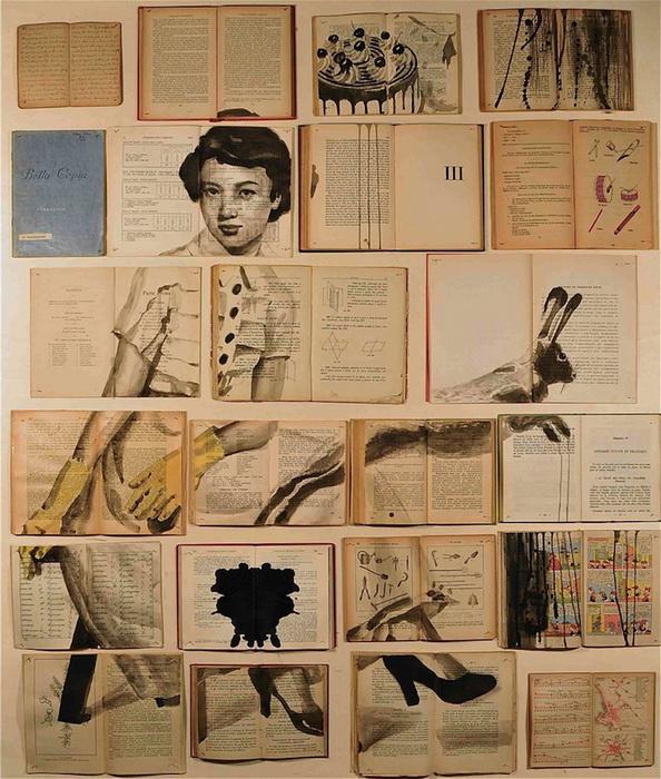 Картины на страницах старых книг. Творчество Екатерины Паникановой