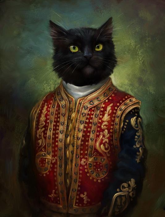 Коты Эрмитажа. Открытки Эльдара Закирова