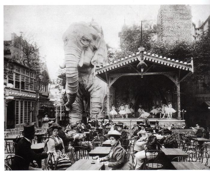Гигантский слон - одна из забытых достопримечательностей Мулен Руж