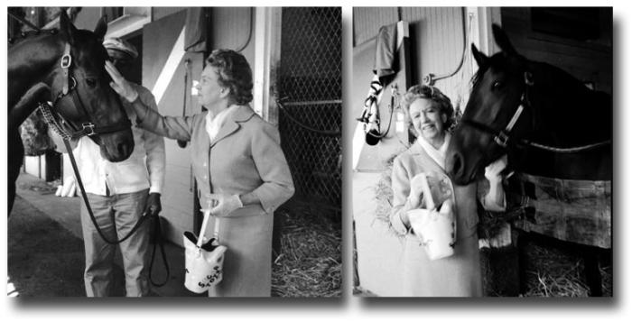 Элизабет Арден увлекалась скачками и даже владела несколькими скаковыми лошадьми