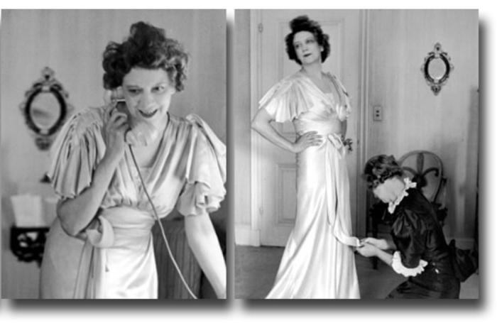 Элизабет Арден в своих апартаментах. 1936 год