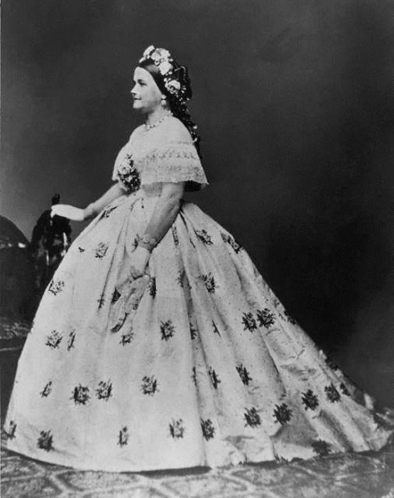 Мэри Тодд Линкольн в платье от Элизабет Кекли
