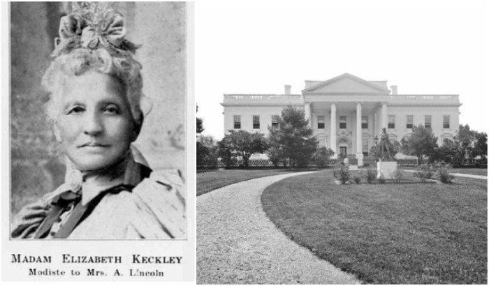 Элизабет Кекли - рабыня, ставшая портнихой Белого Дома