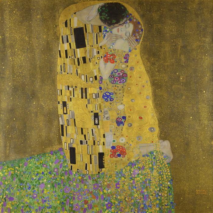 Густав Климт, Поцелуй