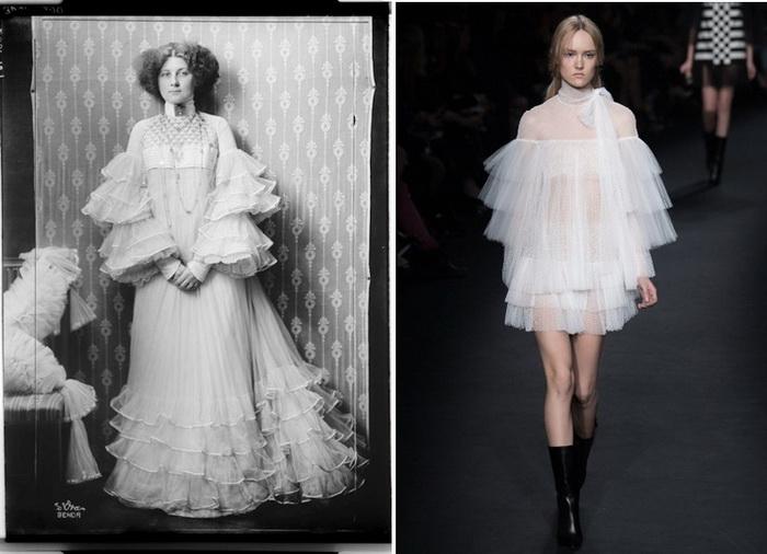 Коллекция Valentino Fall, вдохновленная идеями Эмилии Флеге