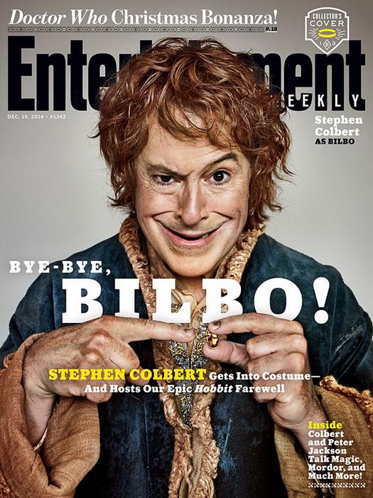 Стивен Кольбер в образе Бильбо