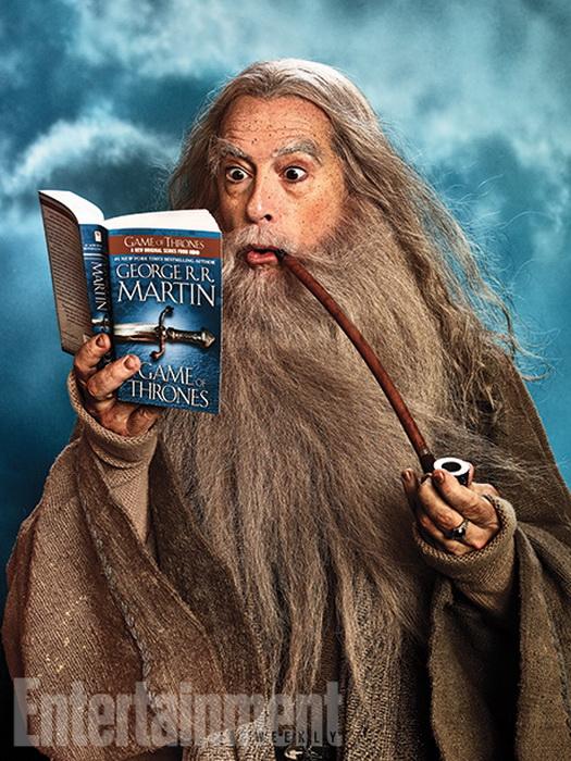 Стивен Кольбер на обложке еженедельника Entertainment Weekly
