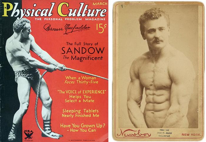 Евгений Сандов - человек, который ввел моду на здоровое сильное тело