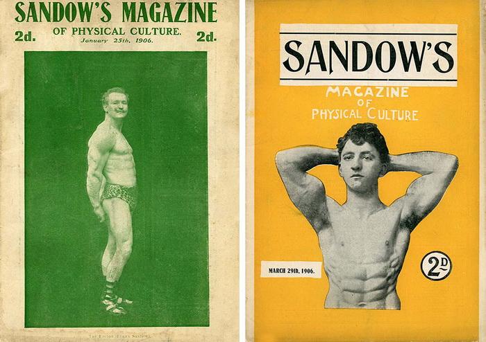 Обложки журнала, который выпускал Евгений Сандов