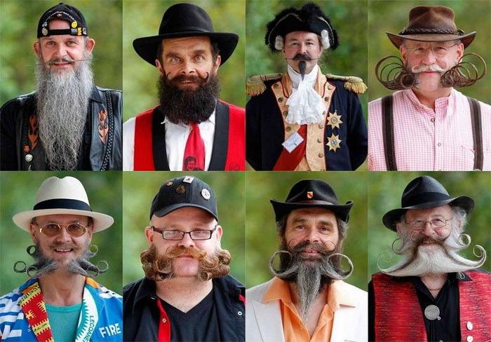 Чемпионат бороды и усов во Франции