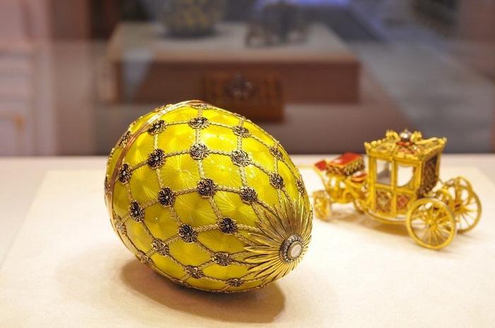 Коронационное, яйцо Фаберже, 1893
