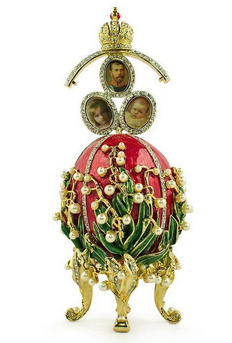 Ландыши, яйцо Фаберже, 1898