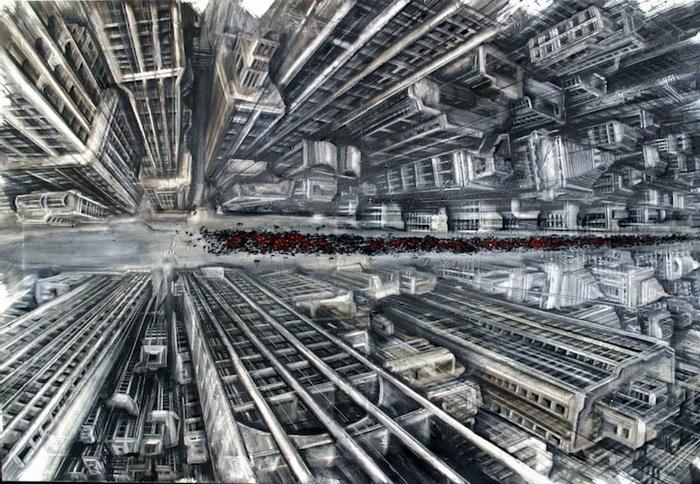 Головокружительные рисунки Fabio Giampietro