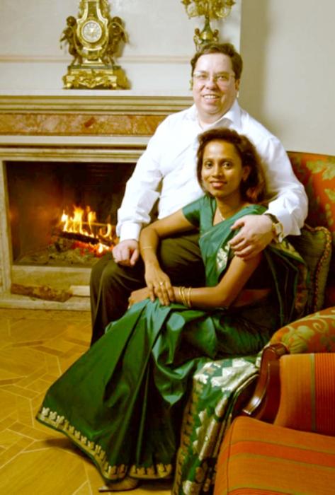 Фариида Бондаренко с мужем Михаилом Бондаренко. Фото: interviewmg.ru
