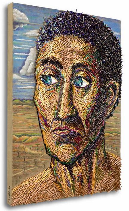 2 в 1: рисунки-коллажи от Федерико Урибе (Federico Uribe)