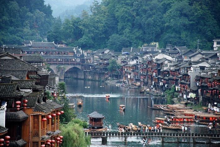 Старинный городок Фенхуан