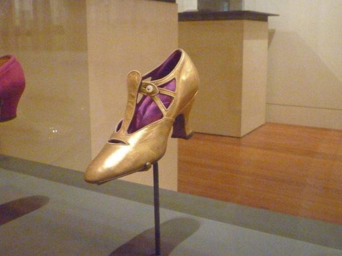 Туфли-флэпперы, 1920 г.