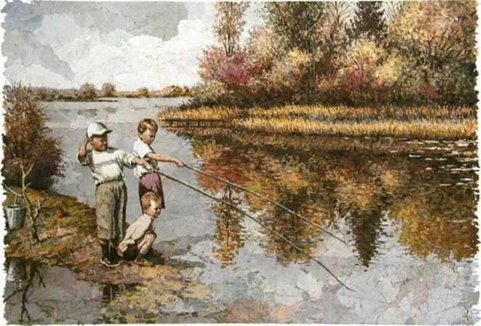 Флорийская мозаика российского художника Александра Юркова