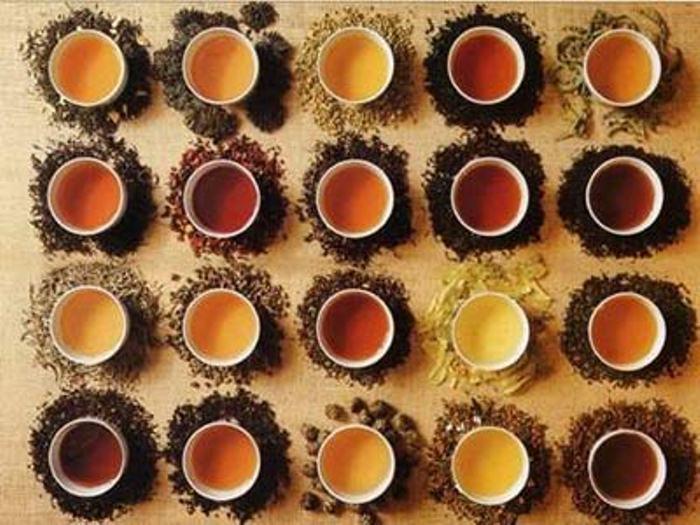 Дегустация чая.
