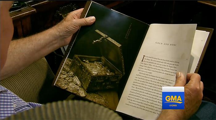 Книга о сокровищах, изданная Форрестом Фенном.