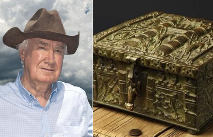 Знаменитый сундук с сокровищами от Форреста Фенна.