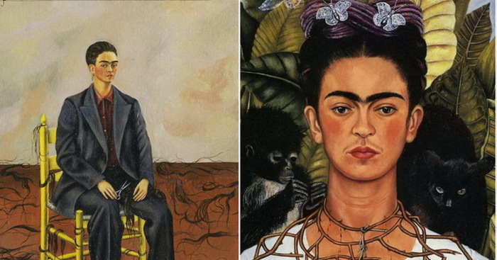 Автопортреты Фриды Кало.