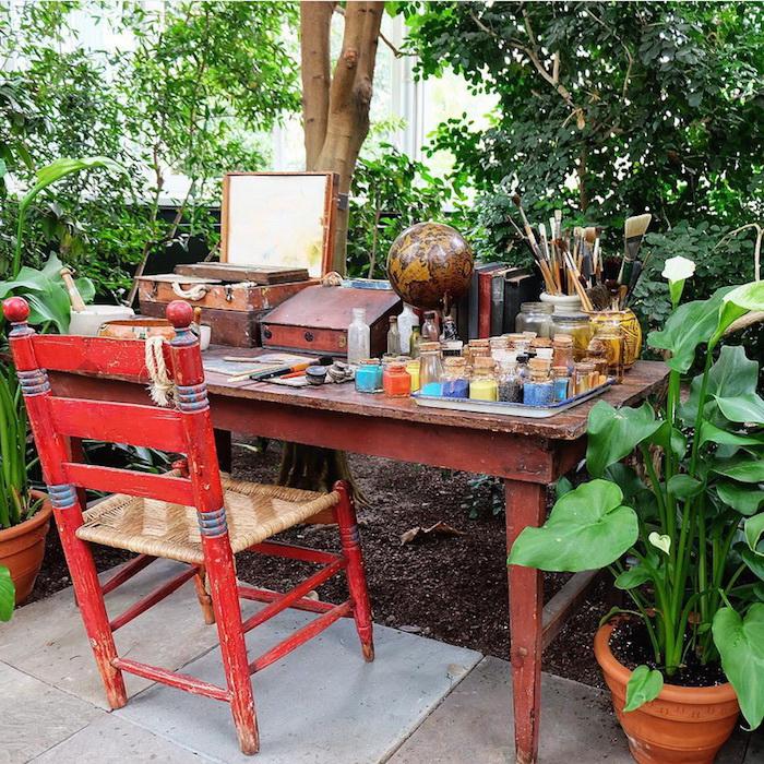 В нью-йоркском ботаническом саду воссоздали мастерскую Фриды Кало