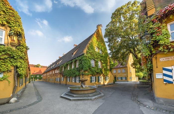 Фуггерай - один из первых в мире проектов социального жилья.