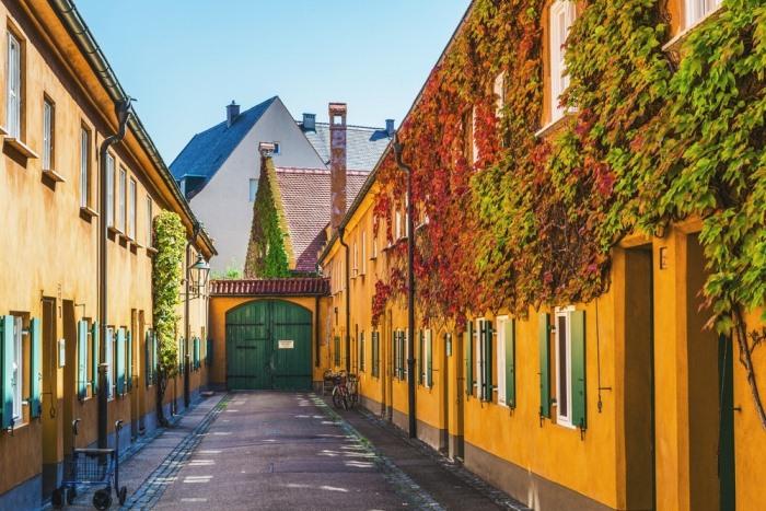 Квартал Фугерров построен в начале XVI в.