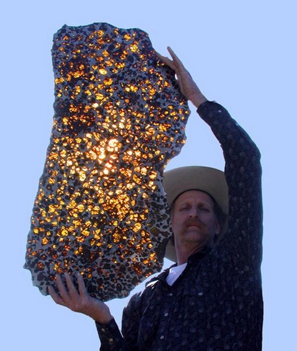 Необычный метеорит Фукан был найден в Китае