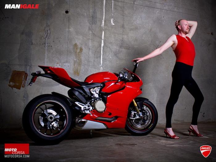 Мужчины на мотоциклах: сексуально-юмористический проект