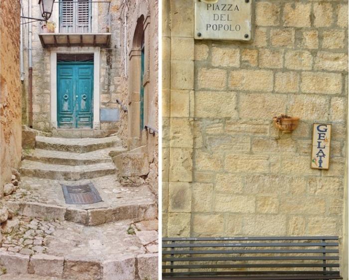 Ветхие стены старых построек