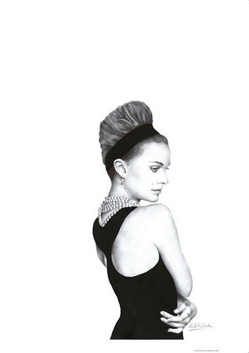 Фотореалистические портреты шариковой ручкой: творчество Gareth Edwards