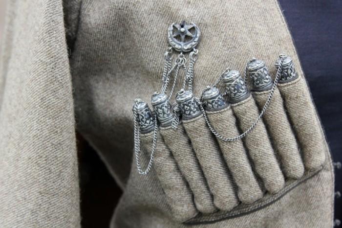 Газыри - важный элемент традиционного кавказского наряда