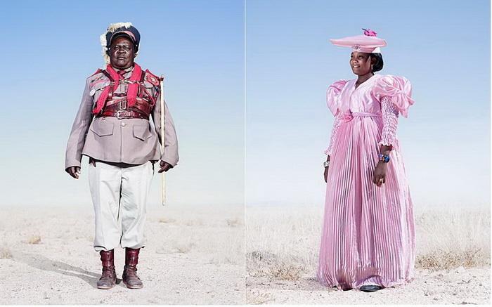 Модники из африканского племени гереро: фоторепортаж Джима Нотина