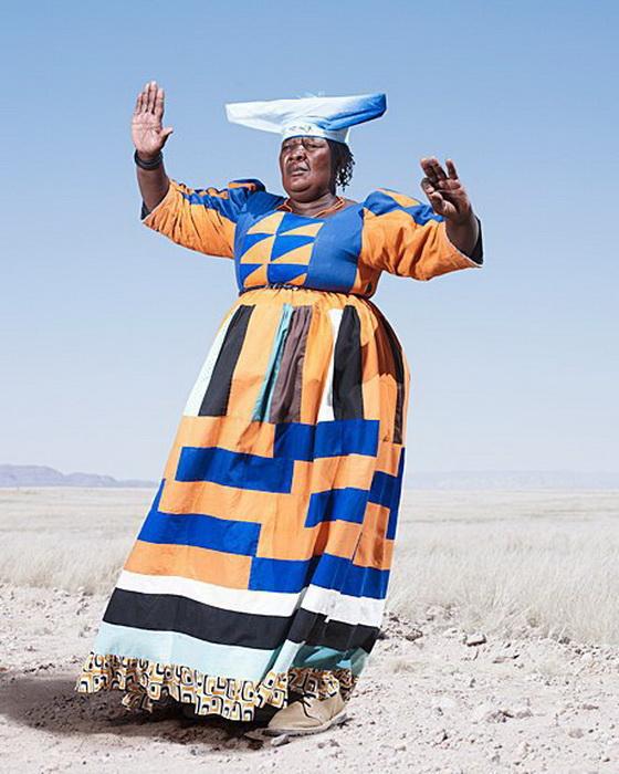 Модники из африканского племени гереро