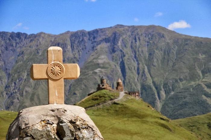 Церковь построена на высоте 2170 м