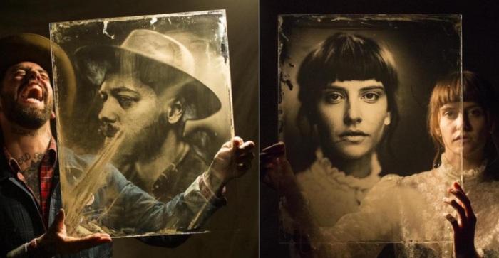 Портреты, сделанные при помощи старинного фотоаппарата, от Жиля Клемена