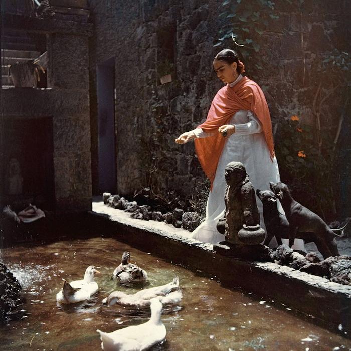Редкие фотографии Фриды Кало
