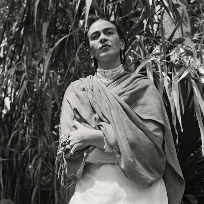 Раритетные фотографии Фриды Кало