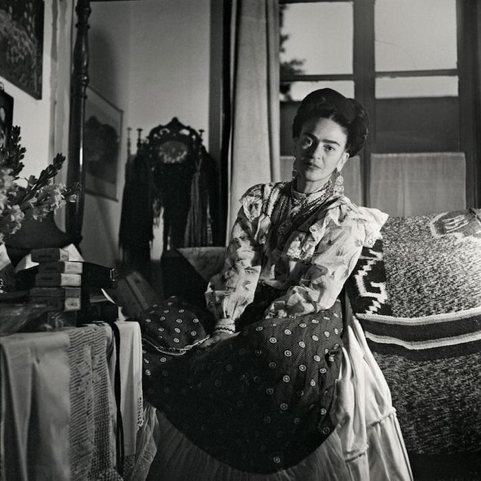 Снимки Фриды Кало, сделанные Жизель Фройнд (Gisеle Freund)