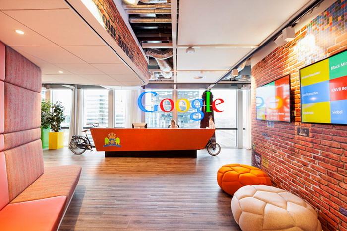 Яркий и функциональный дизайн офиса Google в Амстердаме