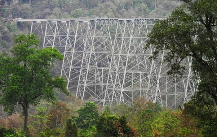 Высота виадука более 100 м