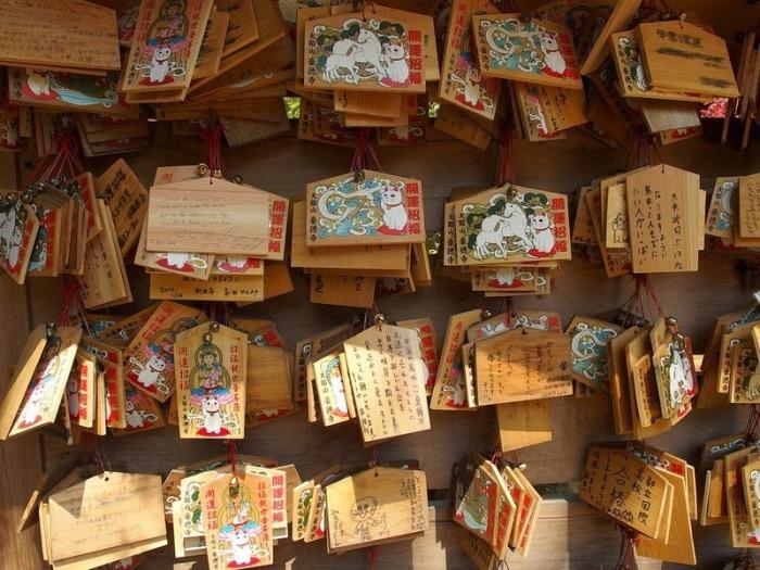 Открытки с изображением манэки-нэко