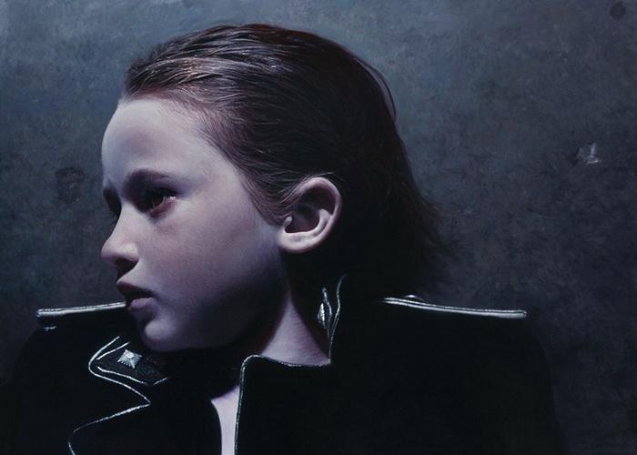 Теме детства Готфрид Хельнвайн (Gottfried Helnwein) уделяет особое внимание в своем творчестве