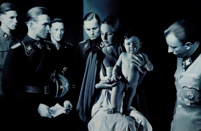 Работы Готфрида Хельнвайна (Gottfried Helnwein)